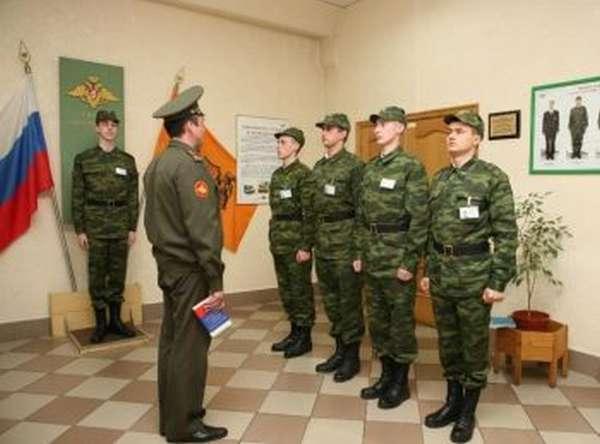Воспитательная работа с военнослужащими