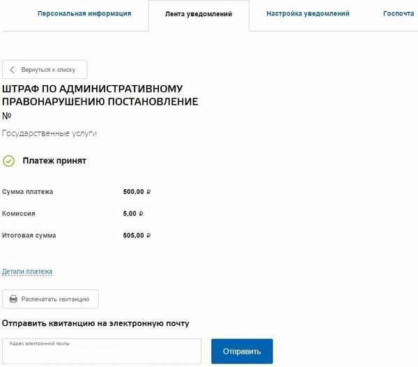 Как проверить и оплатить штрафы ГИБДД на портале Госуслуг
