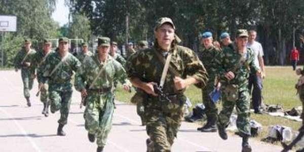 Сдача ФИЗО военнослужащими
