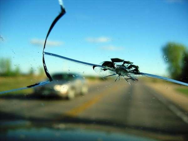 Штраф за трещину на лобовом стекле
