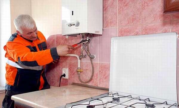 Ремонт газового оборудования в квартире