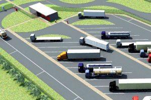 Парковка ля грузовиков