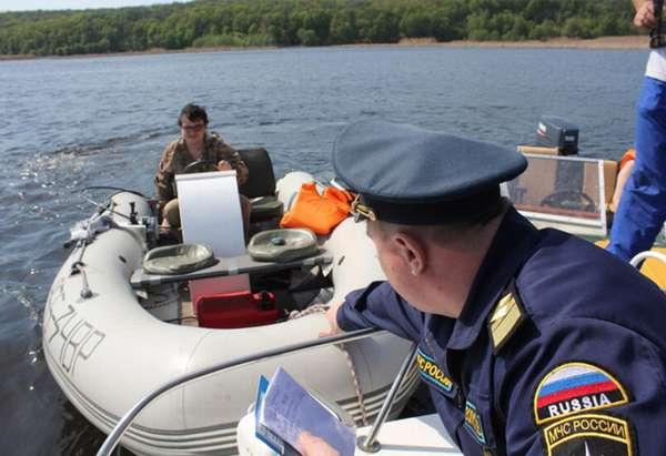 Конфискация лодки
