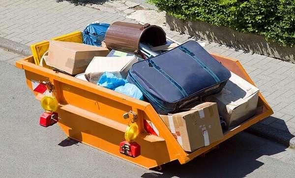 Контейнер для крупногабаритного мусора