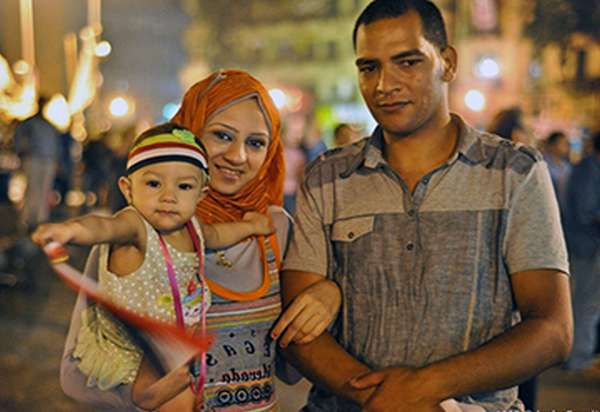 египетская семья