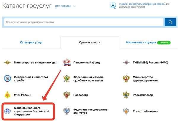 фонд социального страхования Российской Федерации