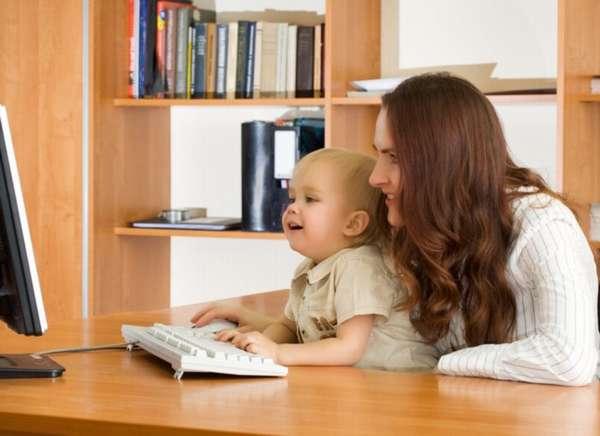 оформление пособий на ребенка в режиме онлайн