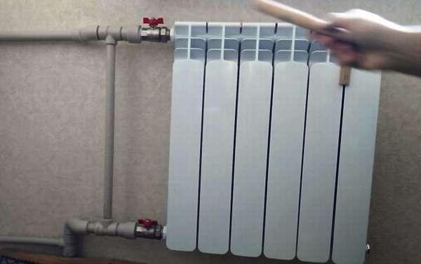 Плохо греет радиатор