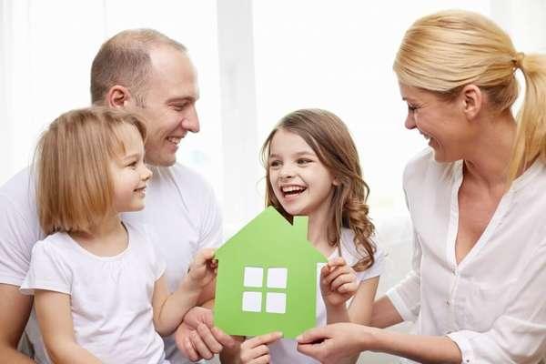 Как выделить доли детям в квартире