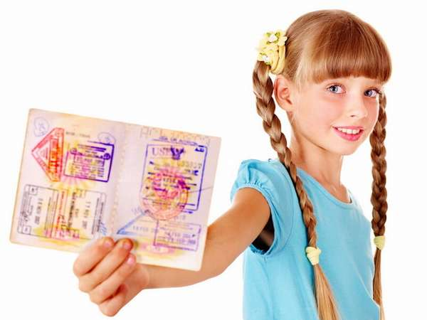 Вписать ребенка в загранпаспорт
