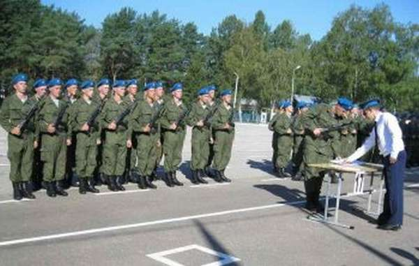 Служебная характеристика на военнослужащего