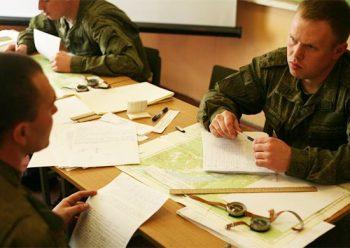 Процесс аттестация военнослужащих