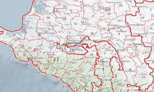 Кадастровая карта