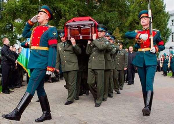 Пособие на погребение военнослужащего