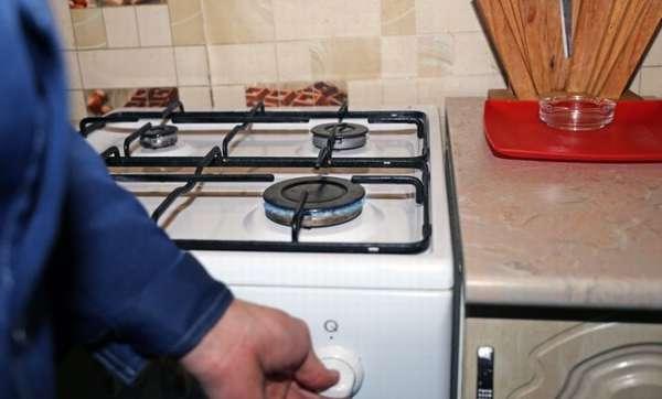 Отключение газовой плиты