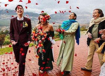 эквадор и свадьба