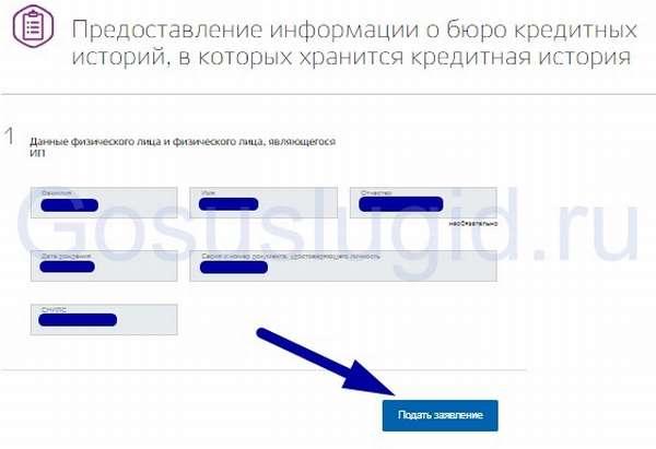 Кредитная история через Госуслуги: заказываем выписку из БКИ