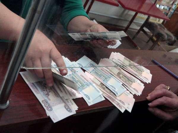 расчет деньгами в кассе