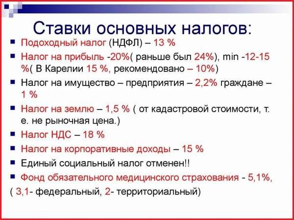 Налоговый период по НДФЛ