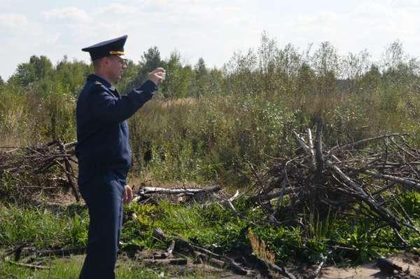 Штраф за сжигание мусора на участке в 2018