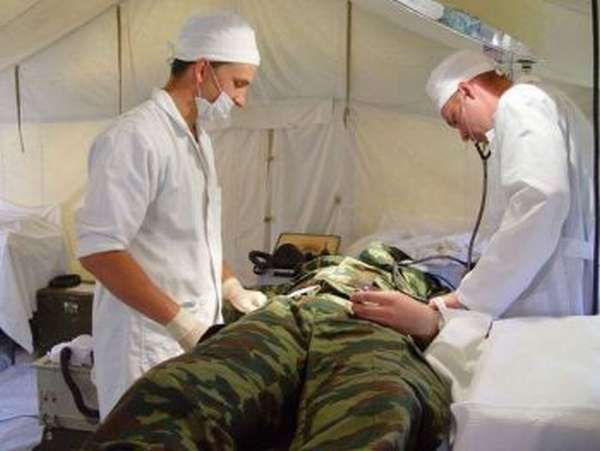 Подготовка военных врачей